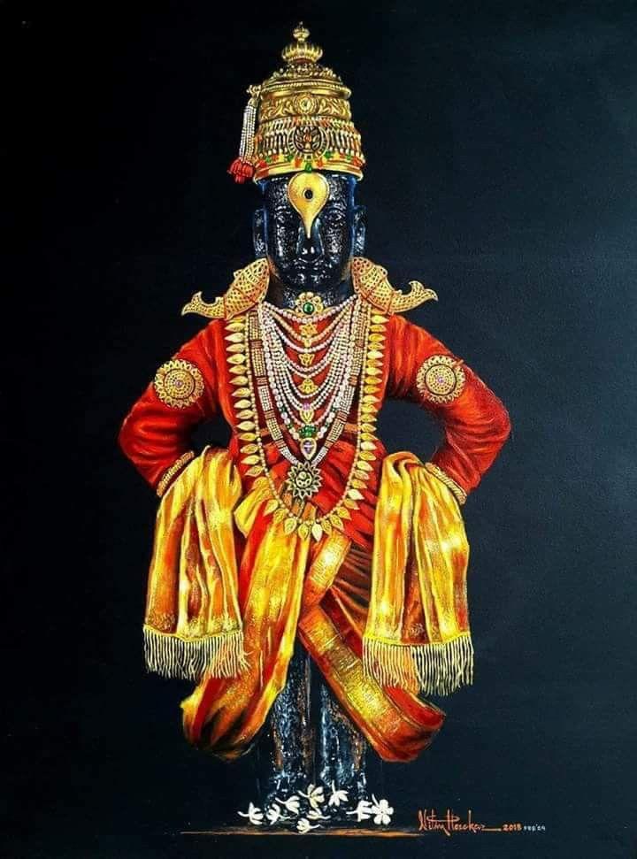 Pin By Sahilk On Pixels Lord Vishnu Wallpapers Lord Krishna Wallpapers Lord Krishna Images God vitthal full hd wallpaper