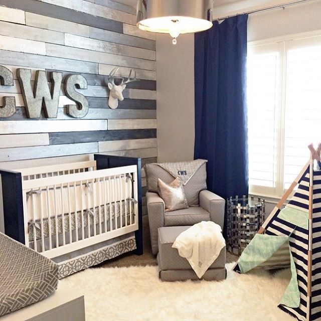 were still loving this metallic wood wall baby boy bedroom ideasbaby - Bedroom Ideas For Walls
