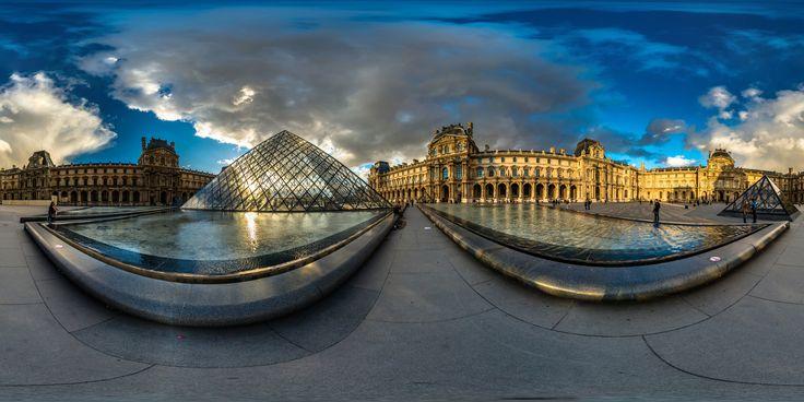 https://flic.kr/p/yUwKiG | Golden Louvre | handheld