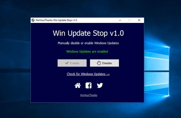 طريقة ايقاف تحديثات ويندوز 10 بإستخدام برنامج و بدون Windows 10 Windows Technology