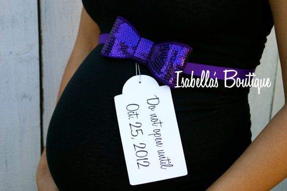 Fun Maternity Photo Prop Maternity Sash by isabellasaccessories, $14.50