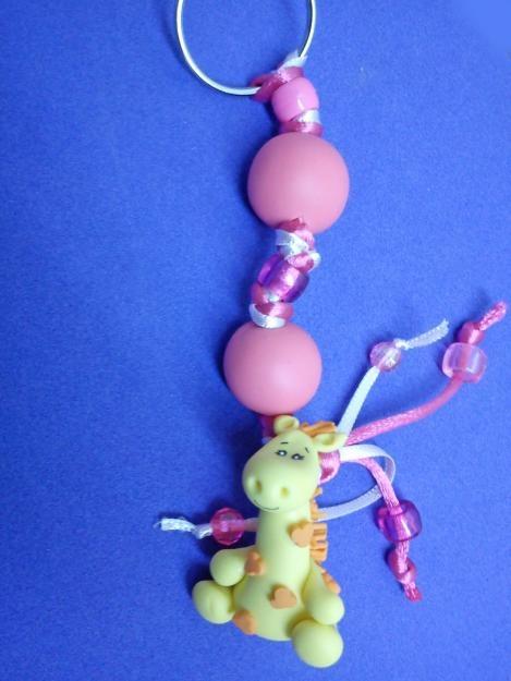 Photos of Llaveros Para Baby Shower, super cute giraffe key ring, favor, recuerdo