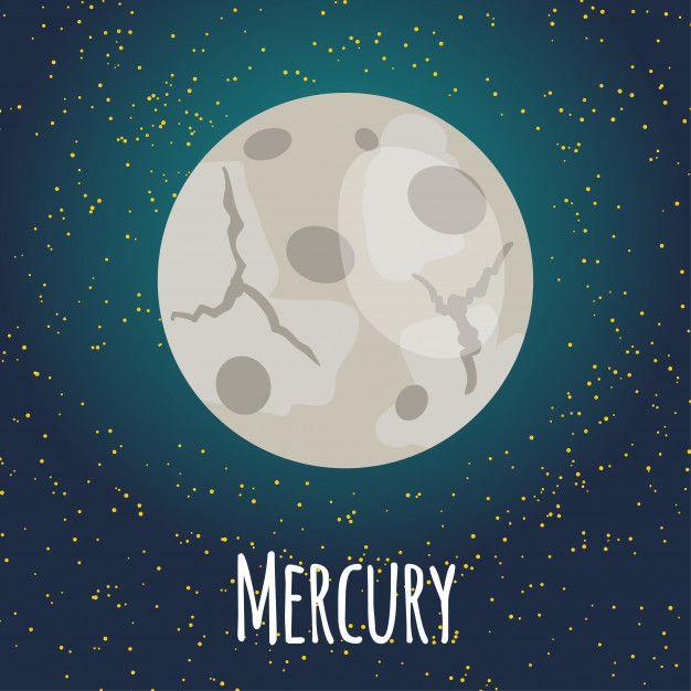 Ilustraci U00f3n Planeta Mercurio