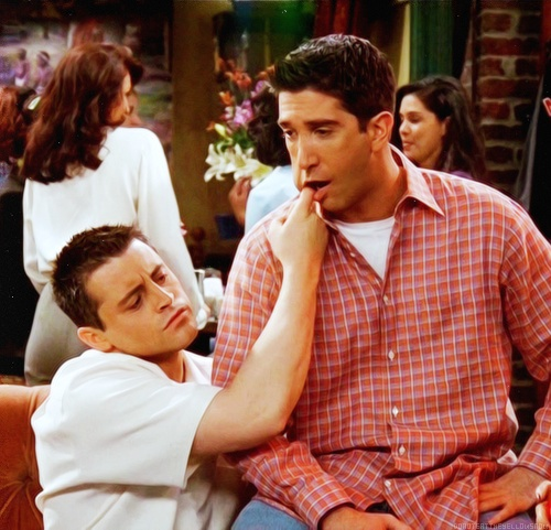 Joey and Ross / Friends tv show