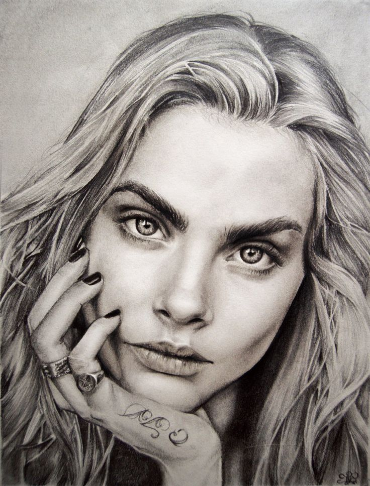how to draw realistic pencil portraits