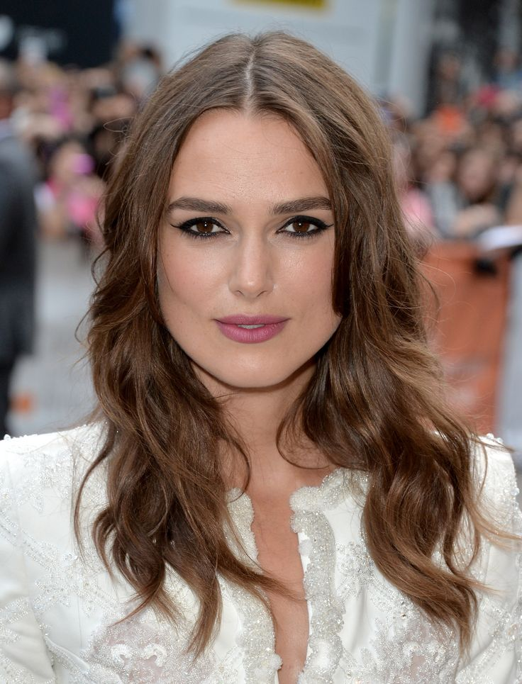 Keira Knightley rocks some seriously lined eyes at #TIFF14! (Photo: Getty Images)