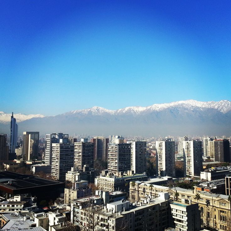 Santiago and the Andes   www.bayessence.com