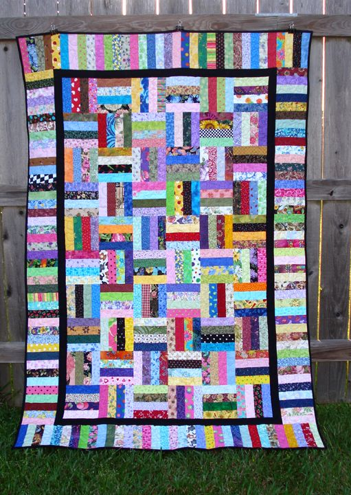 Image result for rail fence quilt