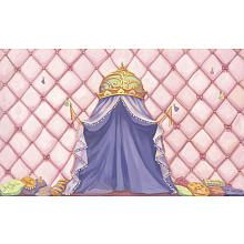Princess Canopy 8ft x 13ft Wall Mural