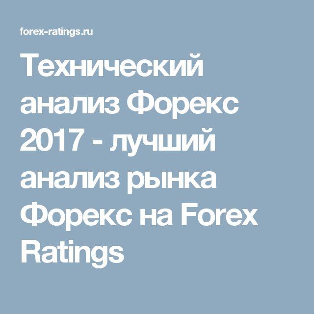 Технический анализ Форекс 2017 - лучший анализ рынка Форекс на Forex Ratings