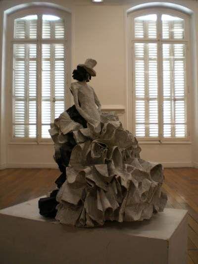 153 best images about paper mache on pinterest folk art papier mache and martin com - Sculptures en papier mache ...