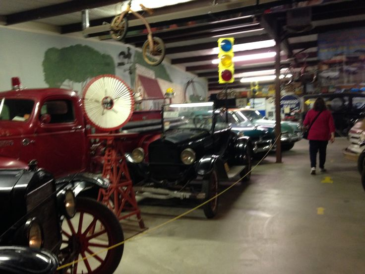 Antique cars. Fort Sumner, NM. Billy the Kid Museum.