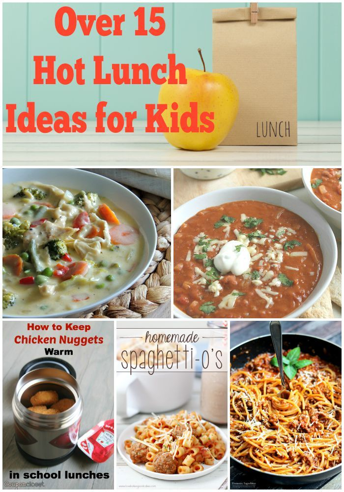 Over 15 Thermos Lunch Ideas For Kids. Skip the sandwiches and try these warm and hearty meals for cold lunch instead!