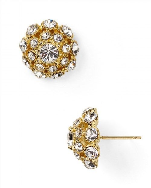 48.00$  Watch now - http://vizmt.justgood.pw/vig/item.php?t=4m70plf43732 - kate spade new york Putting On The Ritz Small Stud Earrings 48.00$