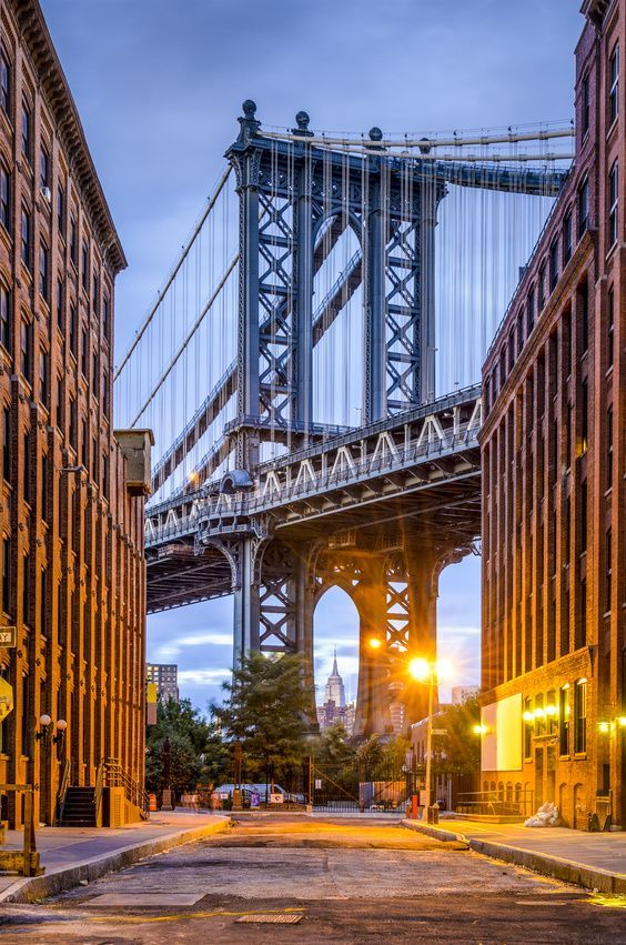 Washington St, Brooklyn by Traveling Lady. Top 10 Instagram Spots Of New York City