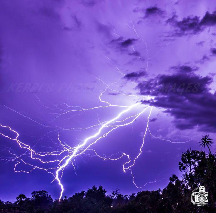 Crazy Lightning in Brisbane Australia this week