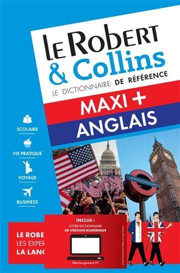 Un dictionnaire bilingue du français vers l'anglais et inversement, avec une mise en situation et une grammaire en fin d'ouvrage. [Renaud-Bray]