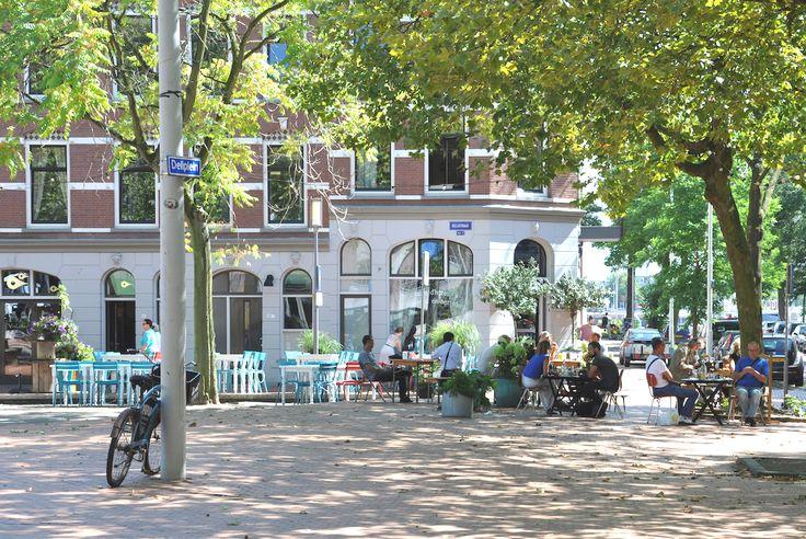 Deliplein - Katendrecht - Rotterdam - Ginger Blue