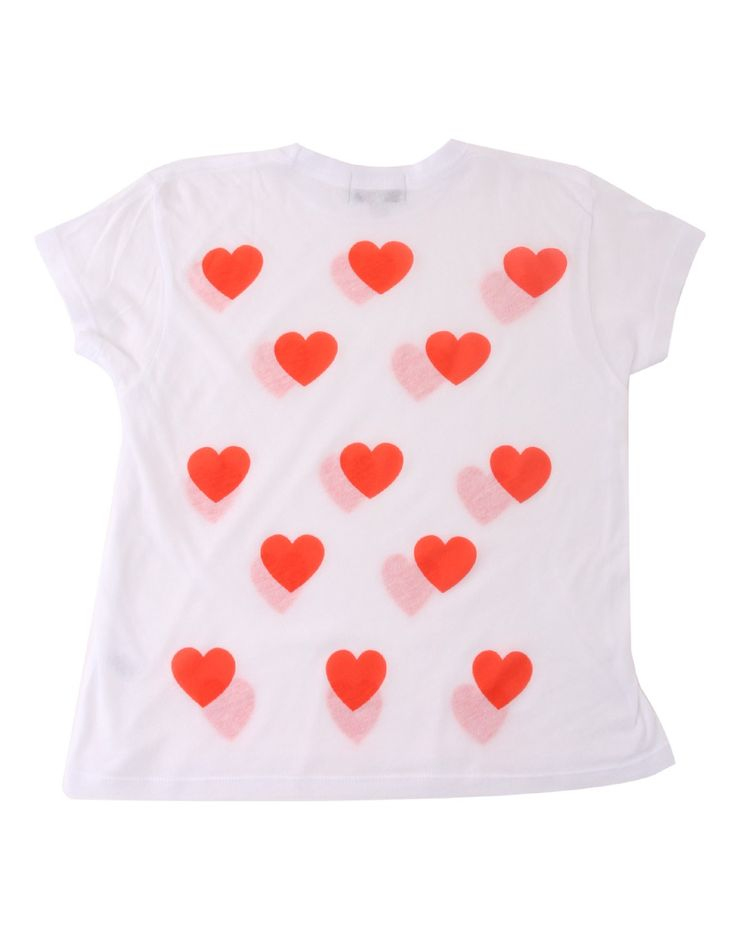 Wildfox White Heart top | Accent Clothing