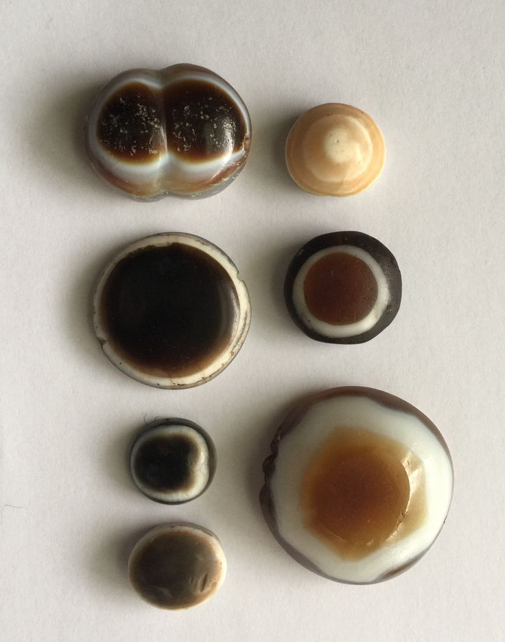 Eye beads, 3rd-1st millennium BC. Himalayan and Middle East