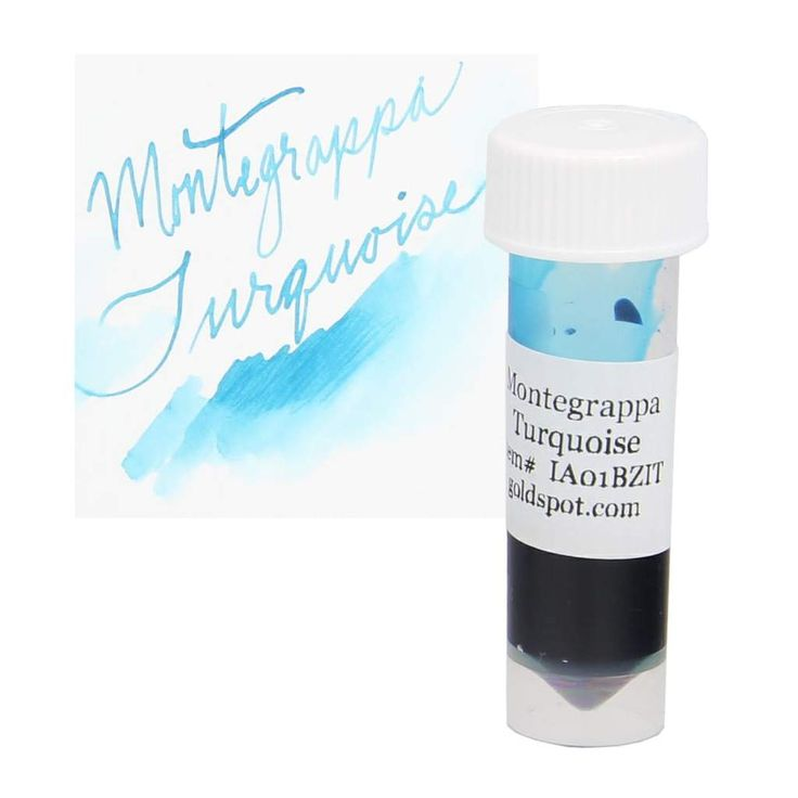 Sample this ink using this conveniently sized, secure, screw-top plastic vial. Filled with 2mL of pen ink.