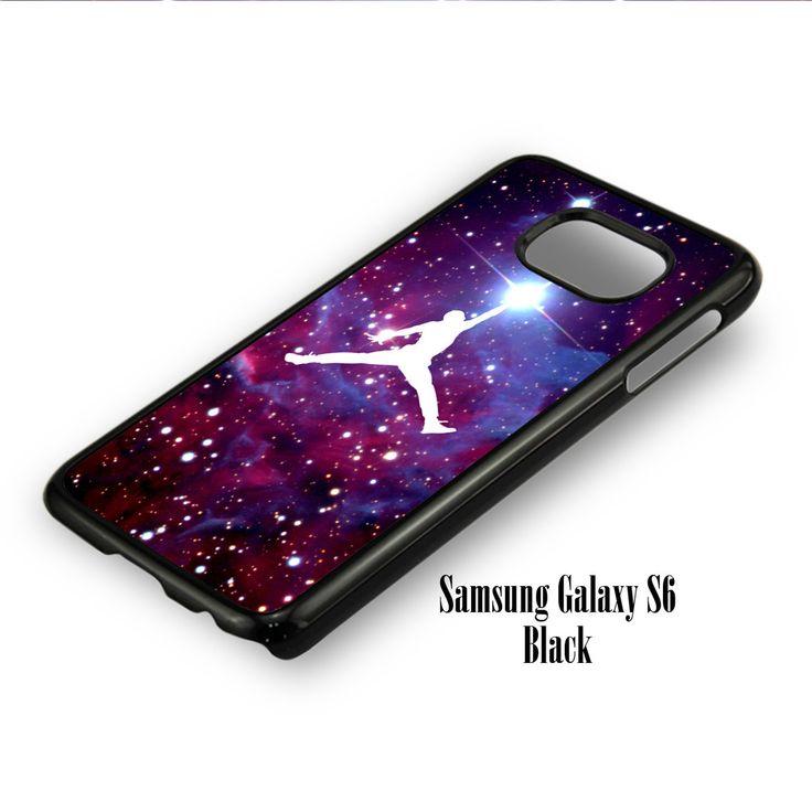 Jordan Logo Brand Nebula for Samsung Galaxy S6, Samsung Galaxy S6 Edge Case