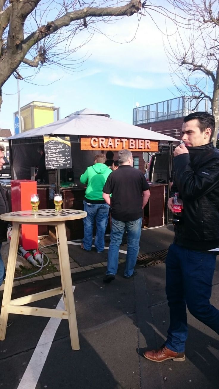 Craft Bier Bar Hannover bei unserem Streetfood Markt am DEZ in Kassel Feb´16
