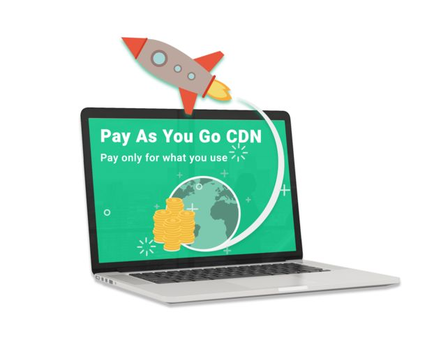 Pay As You Go CDN for Web Acceleration Start Now at no cost with credit of $15 and 10GB storage. write to buy@5centscdn.com or visit our website