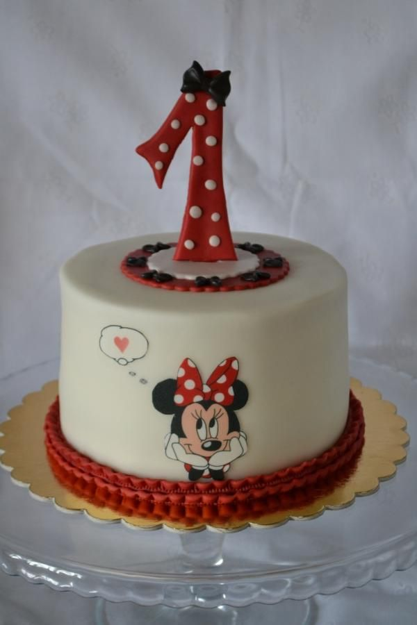 Minnie cake - Cake by drahunkas