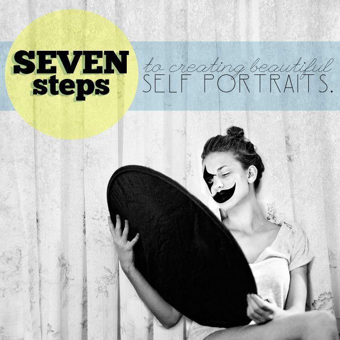self portraiture tips.