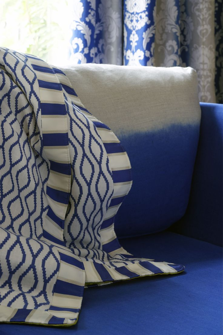 @clarkeandclarke fabric from the Traviata range - available from Rodgers of York #fabric