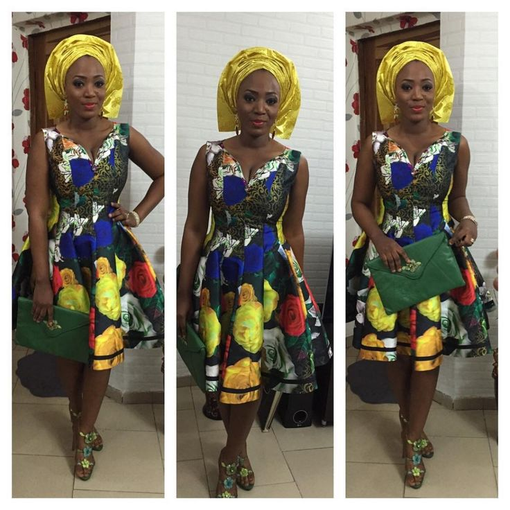 Let's All Swoon Over These Attractive, Sassy & Scorching Aso-Ebi Types