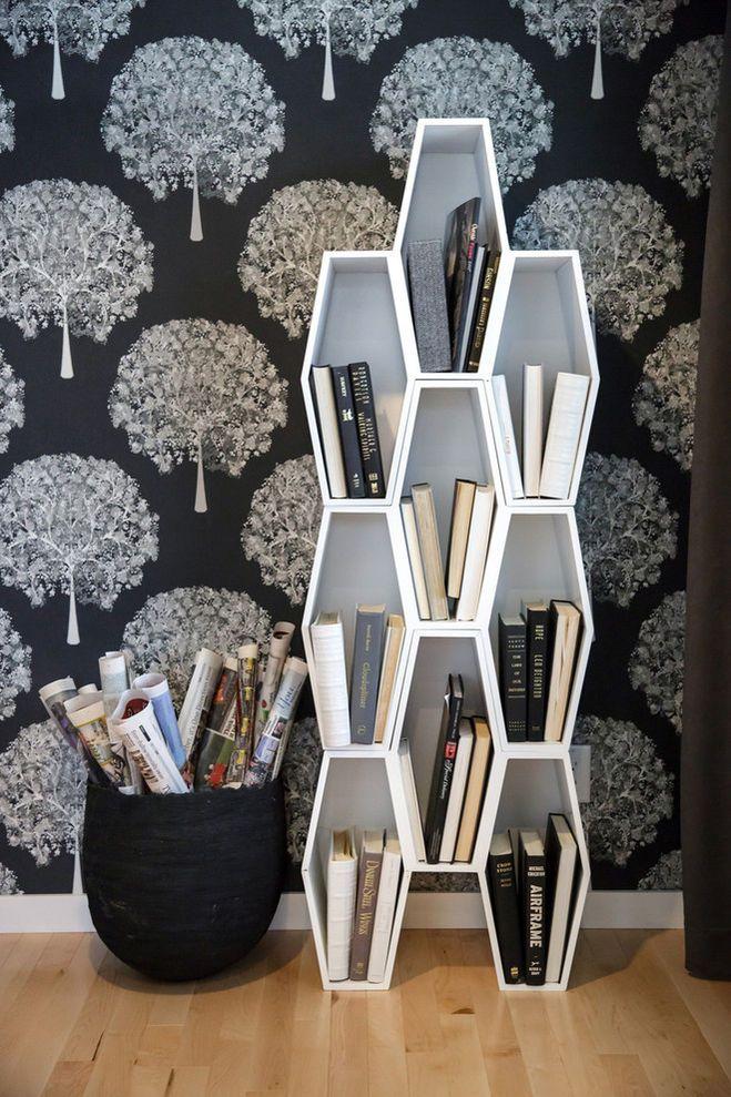 Как и где хранить книги в современных квартирах? Варианты и расположение полок для книг