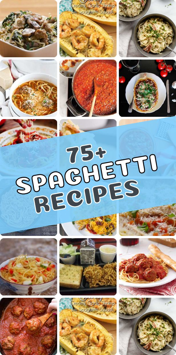 101 Comfort Food Spaghetti Recipes With Images Comfort Food Food Best Comfort Food