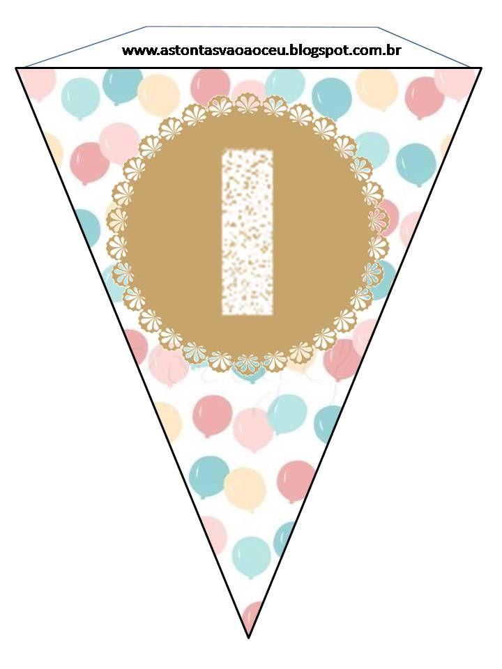 As Tontas Vão Ao Céu: Bandeirinhas - Feliz Aniversário (Sociedade de Socorro)
