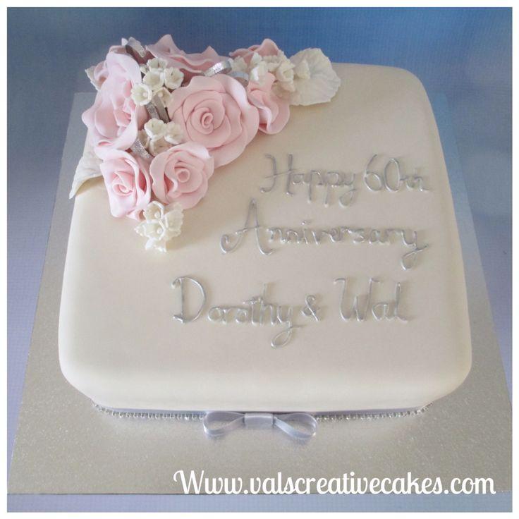 60th wedding anniversary cake 17 best Anniversary