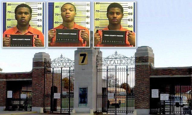 Three varsity football players 'raped 14-year-old girl' | Daily Mail Online