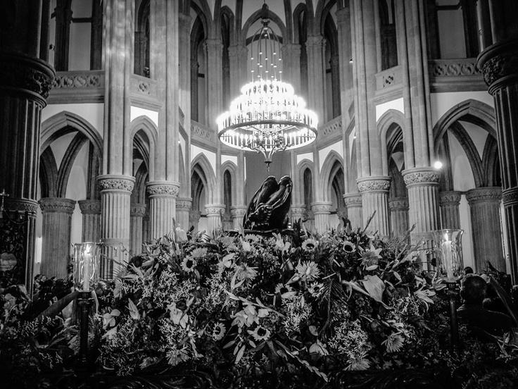 Cristo yacente. Momentos previos a la procesión solemne