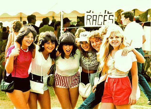 Girls at Festival, 1983 by StevenM_61, via Flickr