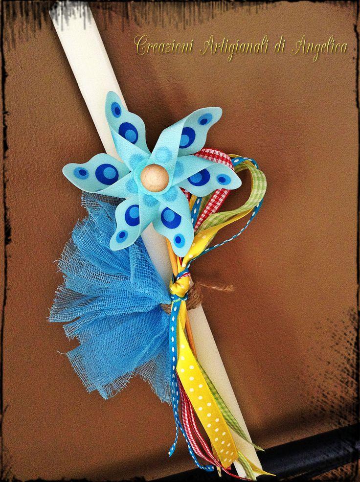 Easter Candle, Lampada, Λαμπάδα, Windmill