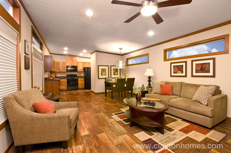 Interior Of Clayton Homes Single Wide E Home Upward Mobility Pinterest Home Interiors And