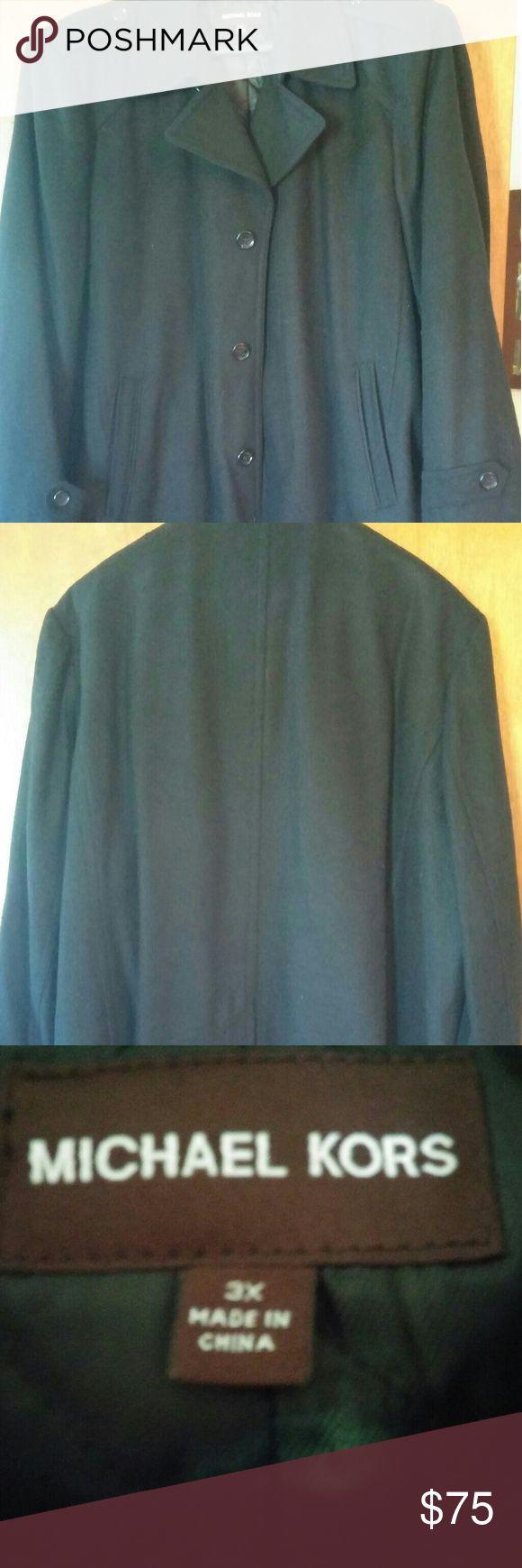 Mens pea coat size 3x