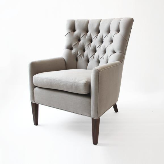Coco Tufted Chair | Shop: Custom Furniture | Sarah Richardson Design #sarahrichardson