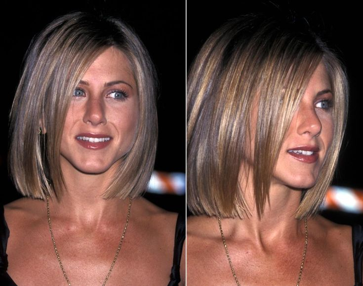 Chopped: Jennifer Aniston got a complete hair makeover in 2001 with a sleek, blunt bob.