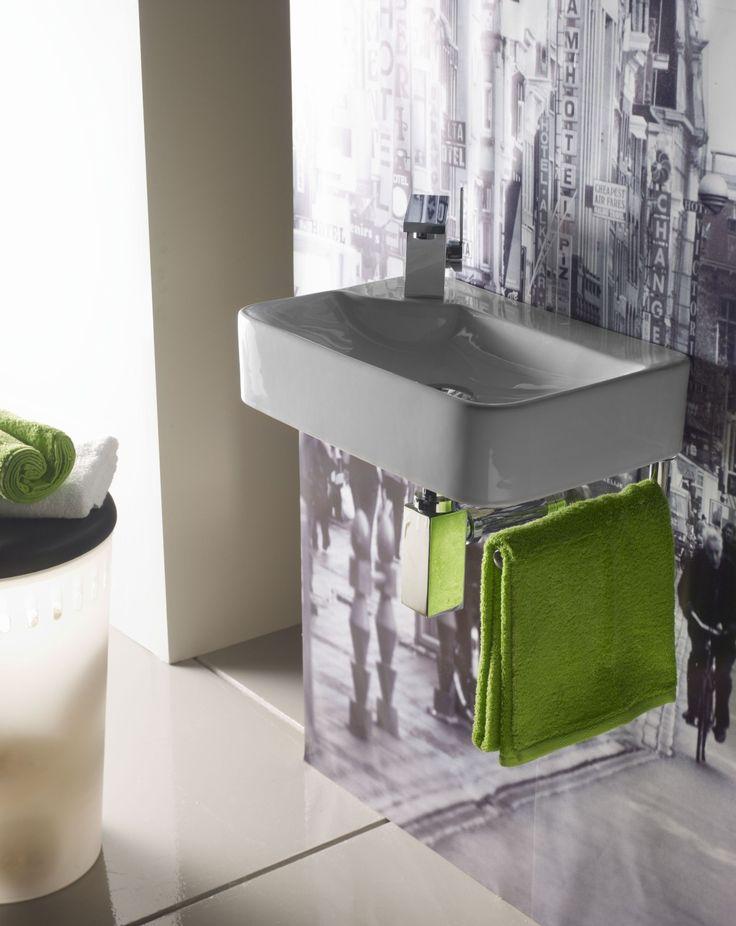 Mejores 25 im genes de lavabos de porcelana mini en for Embellecedor rebosadero lavabo