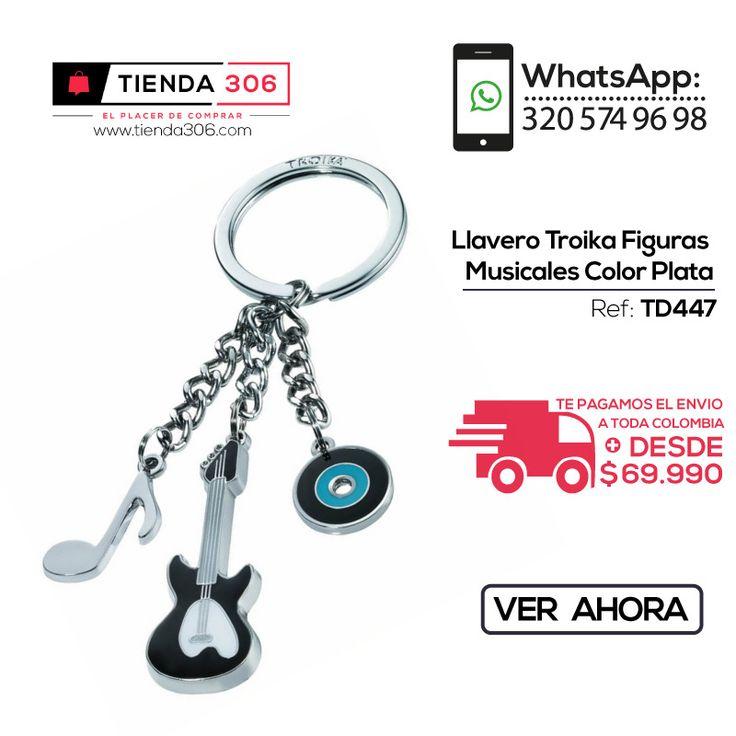 Con Personalidad Unica – Llavero Troika Figuras Ref.: TD447 📞 +57 320 574 96 98 Ver Ahora: http://bit.ly/2yhZcQf