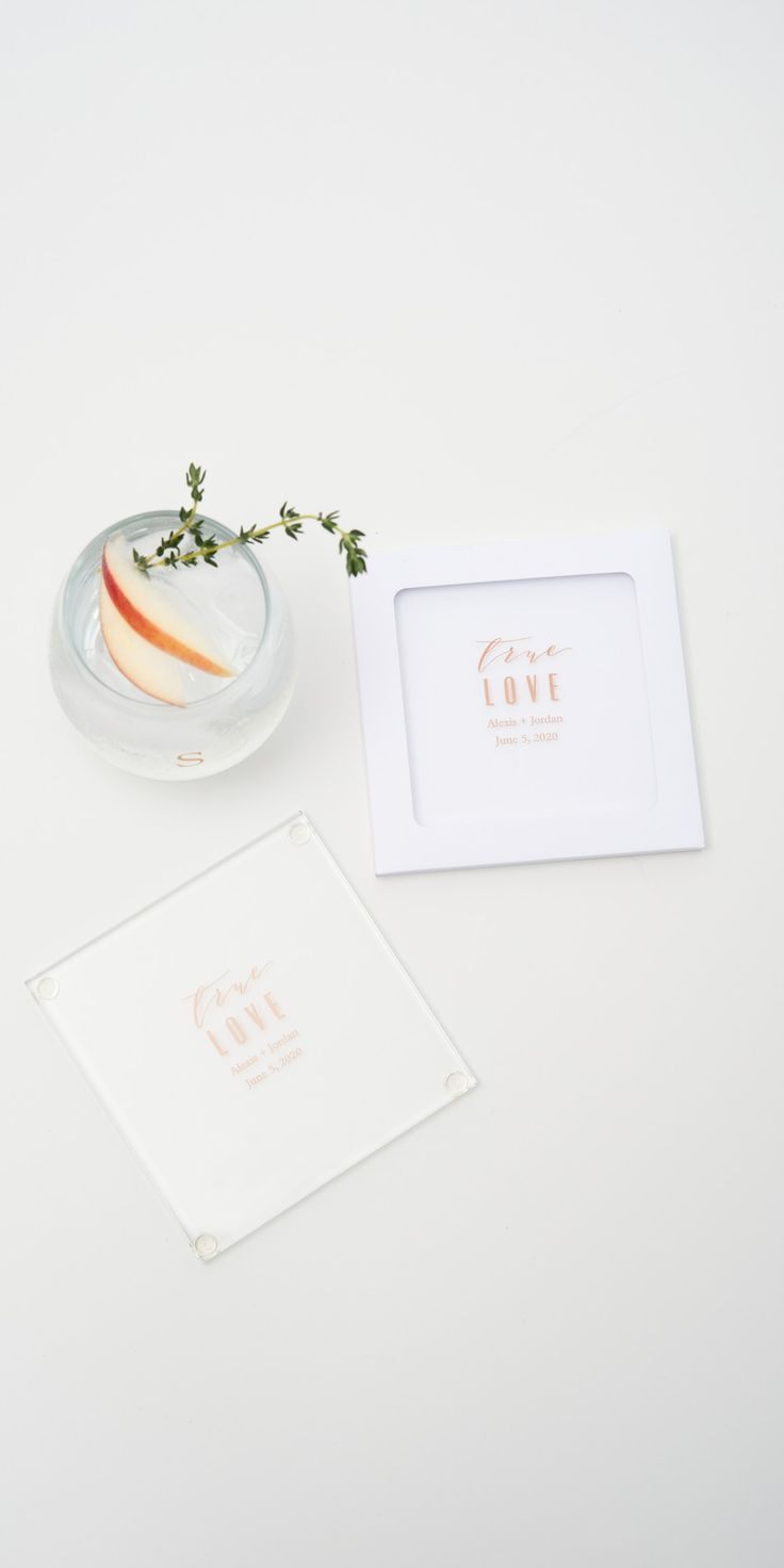 Custom printed glass coasters are a trendy way to add personal flair to your wedding reception, engagement parties, bridal showers or almost any celebration. Personalized just for you, these are not only decorative but can double as favors your guests will love to take home at the end of the night. Weddingstar Inc. – Wedding Accesories and Decor