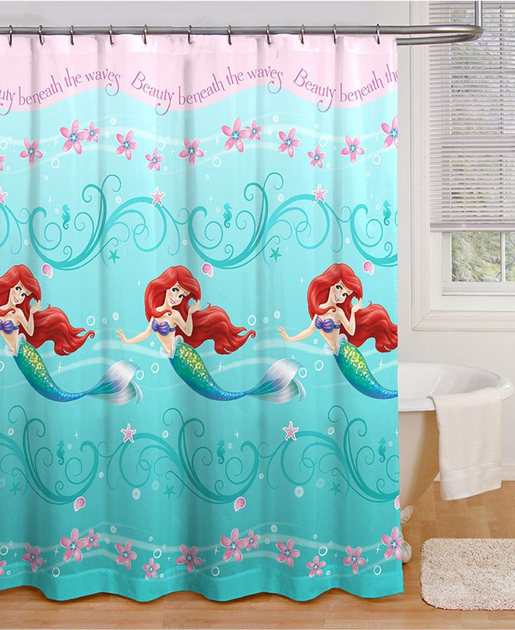 42 best shannon 39 s minnie mouse bathroom images on pinterest - Little mermaid bathroom ideas ...