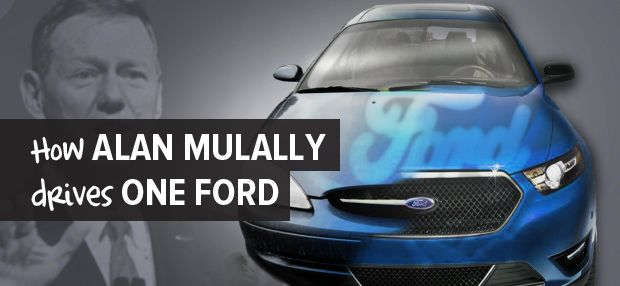 How Alan Mulally Drives One Ford   Leading Bittersweet Change   @fassforward