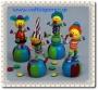 Μπομπονιέρα Βάπτισης Σπαστοί Κλόουν - Διάφορες  http://www.vaftisigamos.gr/index.php?option=com_virtuemart=shop.product_details=vmj_color_plus.tpl_id=820  Ξύλινες Μπομπονιέρες Βάπτισης Σπαστοί Κλόουν σε 4 σχέδια και χρώματα και δέσιμο με κορδέλα και τούλι επιλογής του πελάτη.